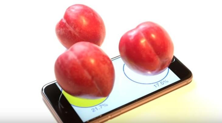 Plum-O-Meter : l'iPhone 6S transformé en balance grâce au 3D Touch