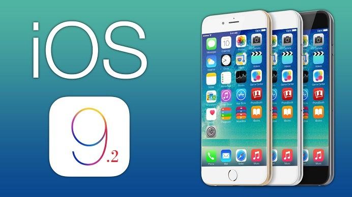 Apple iOS 9.2 - iOS 9.2 disponible sur iPhone, iPad et iPod Touch