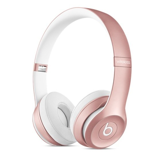Apple : un coloris or rose pour les Beats Solo2 wireless & urBeats