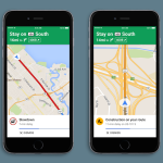 Google Maps iOS : ajout des alertes vocales relatives au trafic