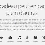 Apple : le guide des fêtes de fin d'année disponible en France