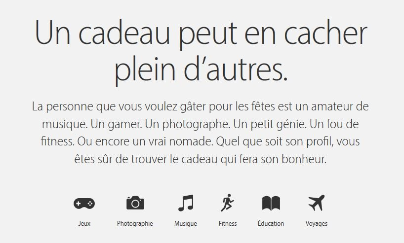 Guide fetes fin annee 2015 Apple - Apple : le guide des fêtes de fin d'année disponible en France