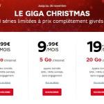 SFR RED : 1Go de 4G à 4,99 €, 5Go à 9,99€ & 20Go à 19,99€/mois !