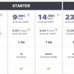SFR : réductions de 5 à 10 € sur tous les forfaits pendant 1 an