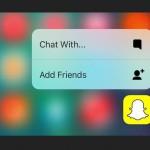 Snapchat : nouveaux filtres (ralenti, avance rapide, retour en arrière) & 3D Touch