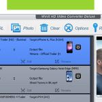 WinX HD Video Converter Deluxe : un convertisseur de vidéo haute définition (Windows)