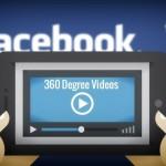Facebook : les vidéos en 360° débarquent sur iOS