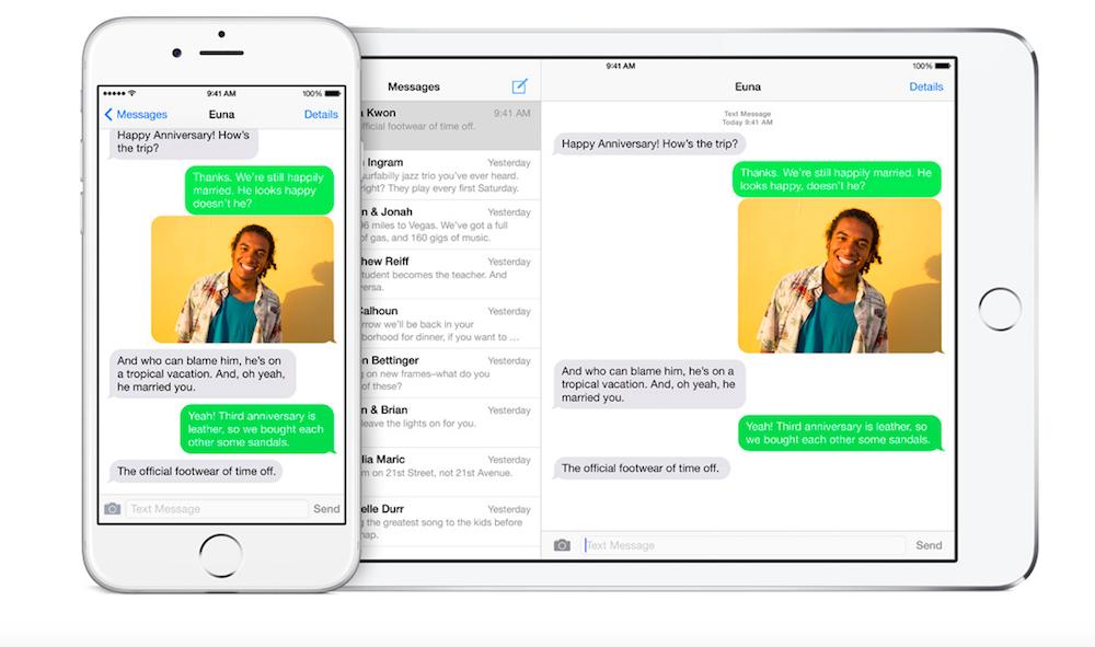 iMessage iOS 9 - Apple : bientôt l'envoi d'argent entre particuliers par iMessage ?