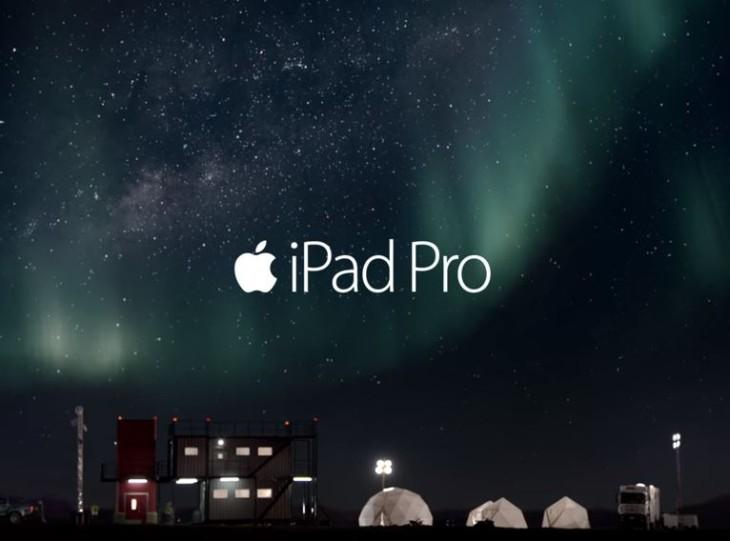 Apple met en ligne la première publicité pour l'iPad Pro