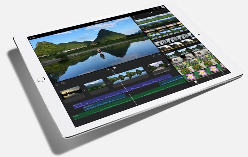 iPad-Pro-imovie