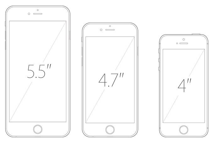 iPhone-tailles-ecrans-5.5-4.7-4-pouces