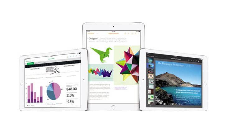 Apple met à jour iWork (Page, Numbers & Keynote) sur iOS