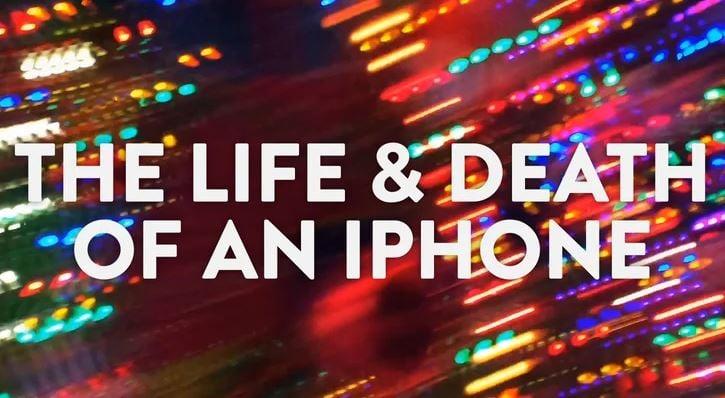"Insolite : la vie d'un iPhone, de sa ""naissance"" à sa ""mort"" (vidéo)"