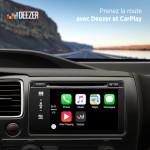Deezer compatible avec le 3D Touch (iPhone 6S) et CarPlay