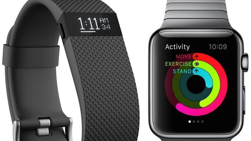 Fitbit HR vs Apple Watch - Apple, Fitbit & Xiaomi leaders mondiaux des wearables