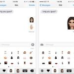 KIMOJI : l'application pour envoyer des emoji de Kim Kardashian