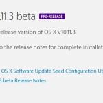 Mac : OS X 10.11.3 bêta 1 disponible pour les développeurs