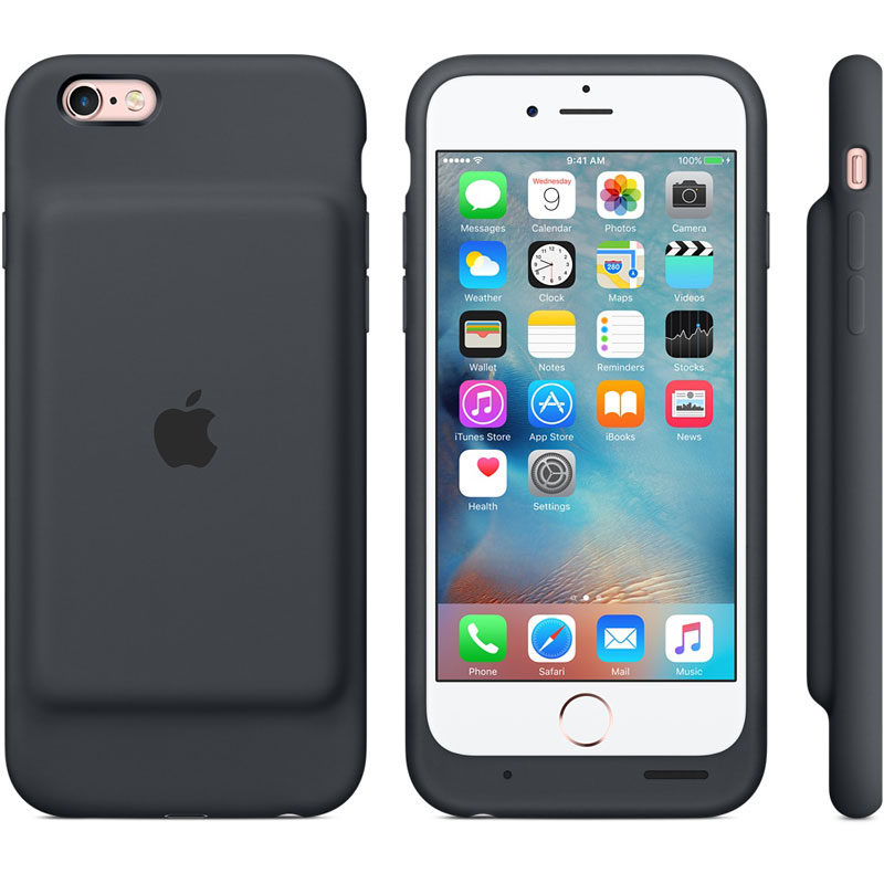 Smart Batterie Case Apple iPhone 6S - Smart Battery Case : une coque batterie iPhone 6 & 6S par Apple
