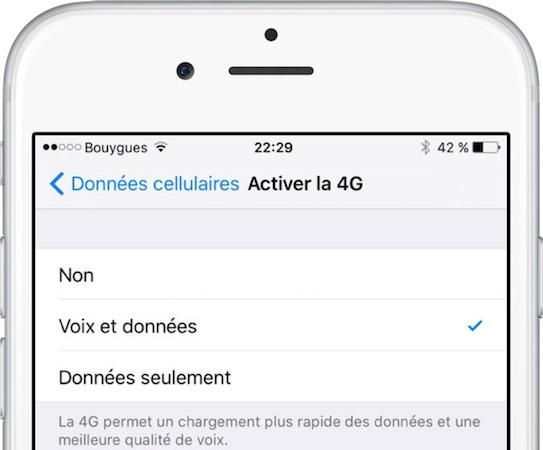 iPhone : Bouygues Telecom commence à déployer les appels 4G (VoLTE)