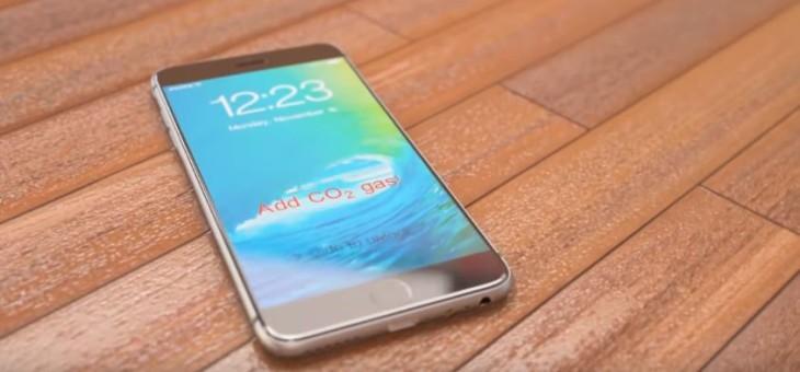 Concept : un iPhone 7 doté d'un système de parachute