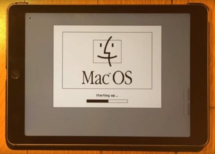 Insolite : quand Mac OS 7.5.5 tourne sur un iPad Air 2 (iOS 9)
