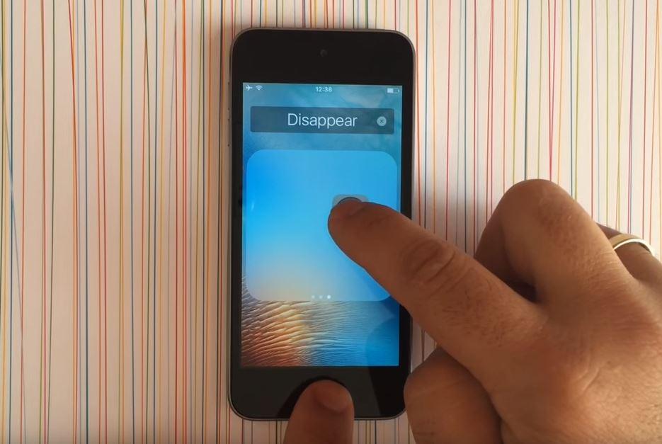 astuce cacher icones ios 9 - Astuce iOS 9 : cacher les icônes des applications iPhone & iPad