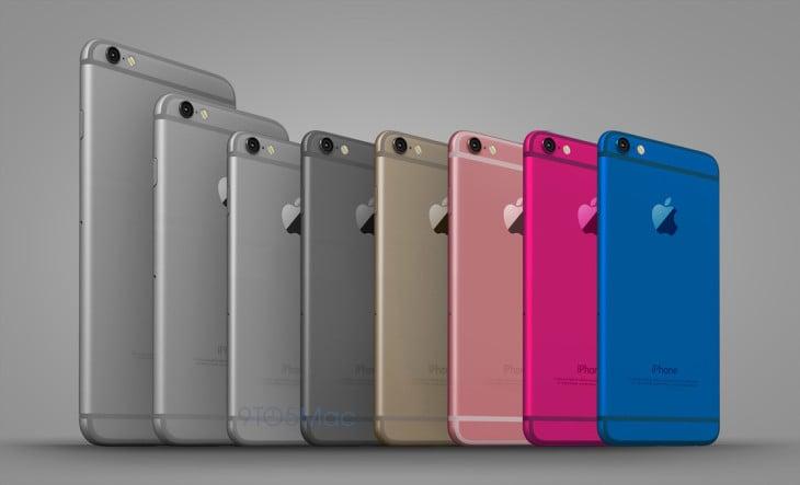iPhone 6C : le futur smartphone aux couleurs de l'iPod Touch ?
