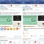 Facebook lance les Réactions en France et dans le monde