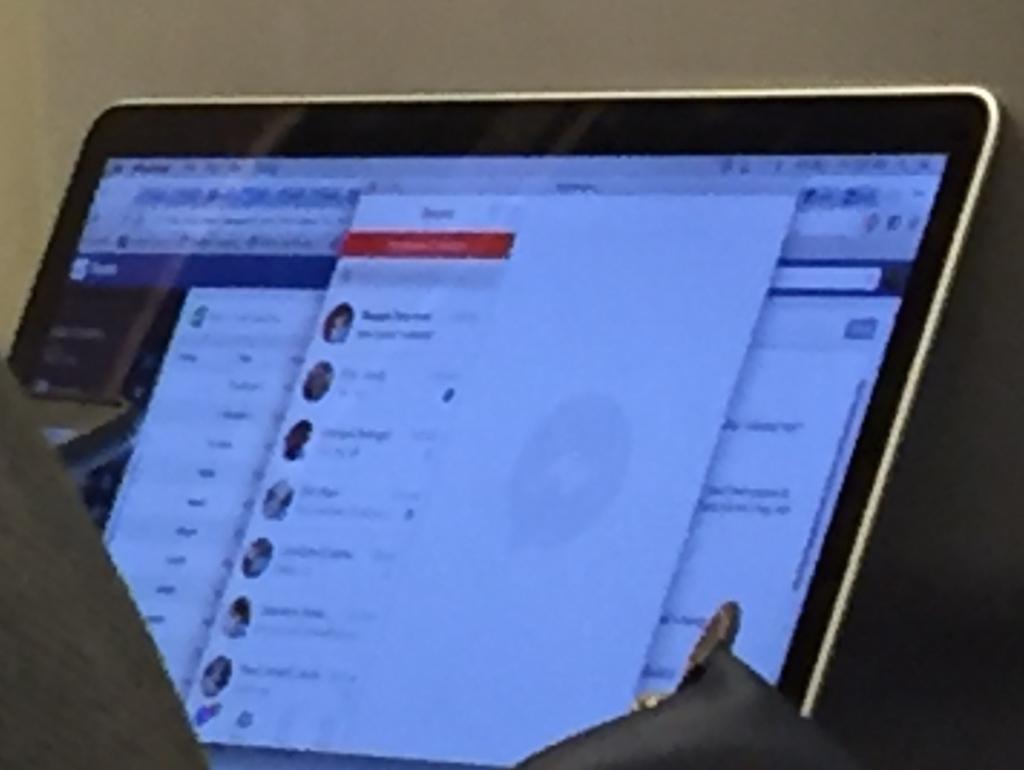 facebook messenger mac techcrunch 1024x770 - Facebook : bientôt une application Messenger sur Mac ?