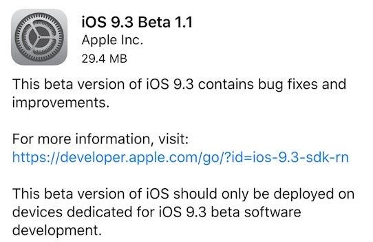 iOS-9.3-beta-1.1