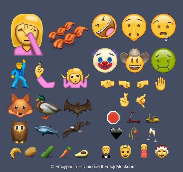 iOS 10 : 74 nouveaux emoji prévus pour juin 2016