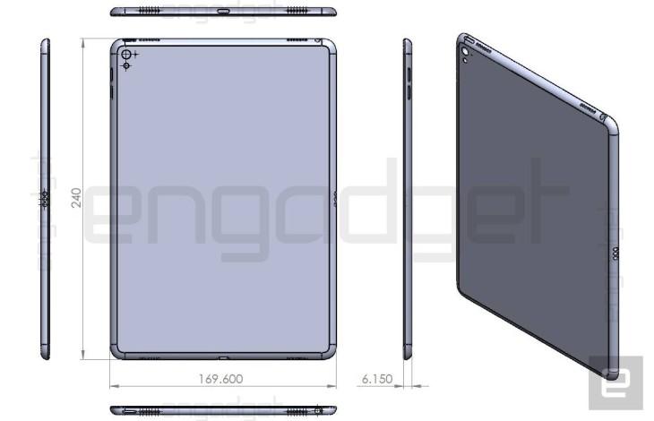 iPad Air 3 : les dimensions dévoilées dans de nouveaux croquis