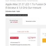 Bon plan : un iMac avec Fusion Drive à seulement 1 279,99 €