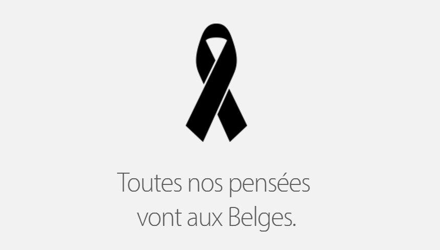 Attentats-belgique-apple-hommage