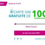 Bouygues Telecom : carte SIM gratuite avec Internet 10Go (4G) pendant 1 mois !