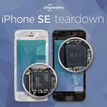 Chipworks démonte l'iPhone SE : puce A9, 2Go de RAM, …