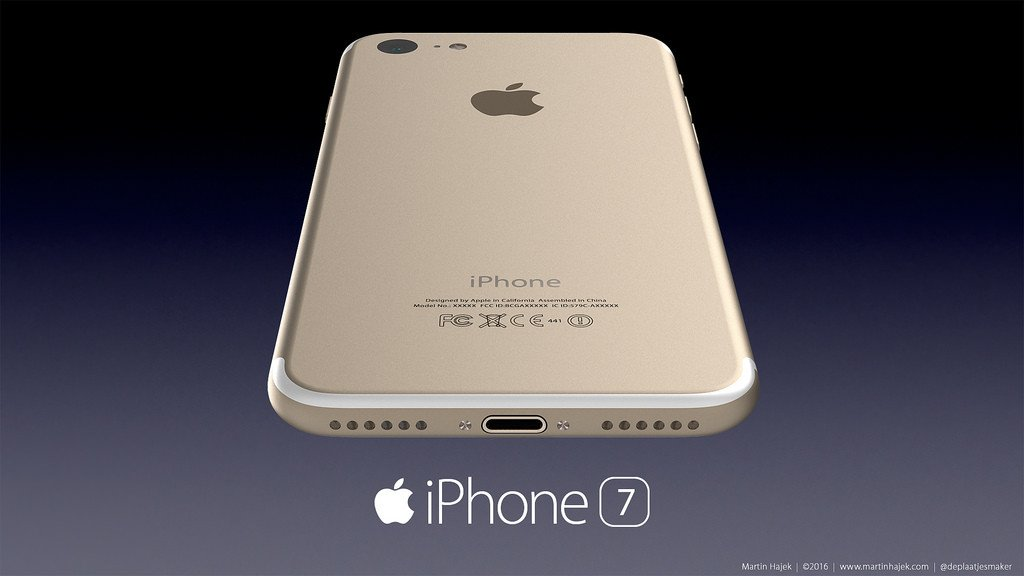 Concept iPhone 7 01 1024x576 - iPhone 7 : Apple pourrait ne plus avoir besoin de Qualcomm