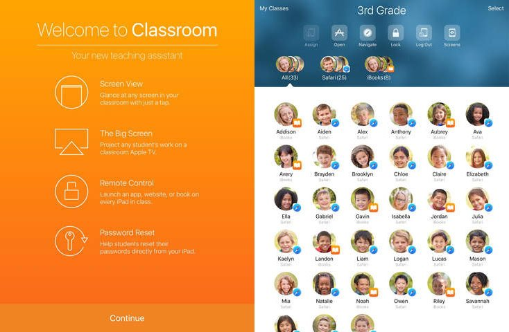 En classe iPad - Apple lance l'application En Classe sur l'iPad