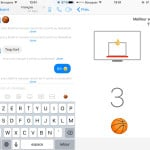 Facebook Messenger : un jeu de basket caché sur iPhone !