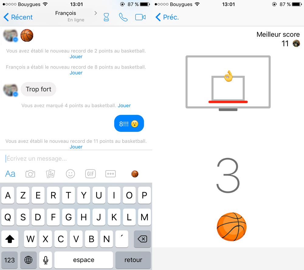 Facebook-Messenger-basket-jeu