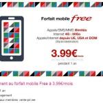 Free Mobile : forfait illimité avec 50Go d'Internet 4G à 3,99€/mois