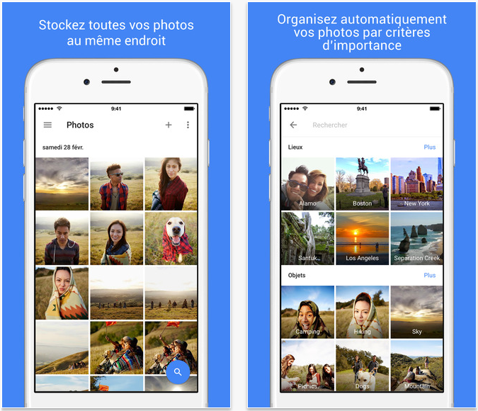 Google Photos iPhone - Google Photos : support des Live Photos (iPhone 6S) & de l'iPad Pro