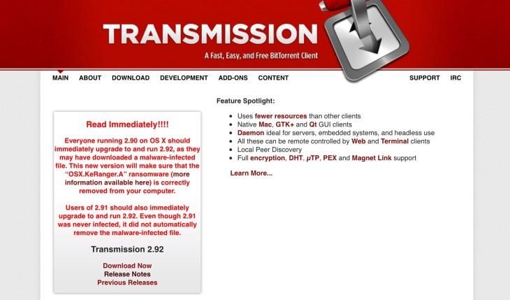 KeRanger : le premier ransomware sur Mac