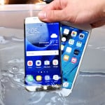 iPhone 6S vs Galaxy S7 : Test de résistance à l'eau (waterproof)