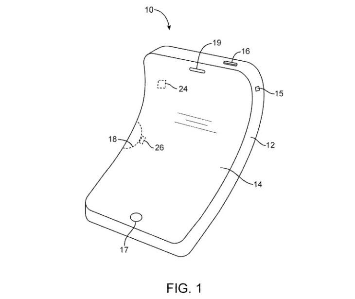 Apple : un brevet d'écran OLED flexible pour iPhone