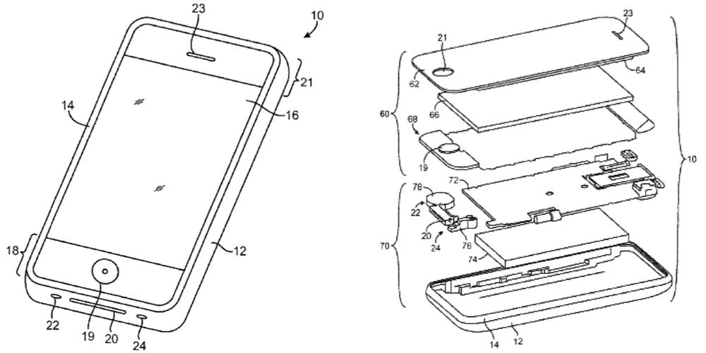 apple liquidmetal - Brevet Apple : des boutons en Liquidmetal dans les prochains iPhone ?