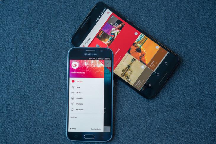 Apple Music : plus de 10 millions de téléchargements sur Android