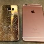 iPhone 6S Plus vs Galaxy S7 Edge : le drop test
