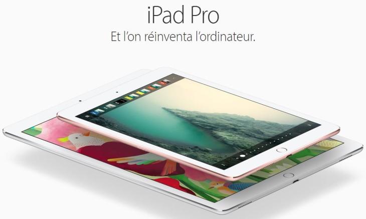 iPad Pro 2017 (10,5 pouces) : un prix & quelques caractéristiques
