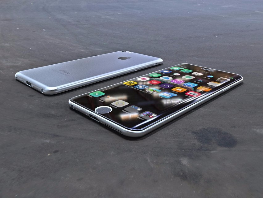 iPhone 7 Plus Concept incurve 2 - iPhone 7 Plus : un sublime concept avec écran incurvé